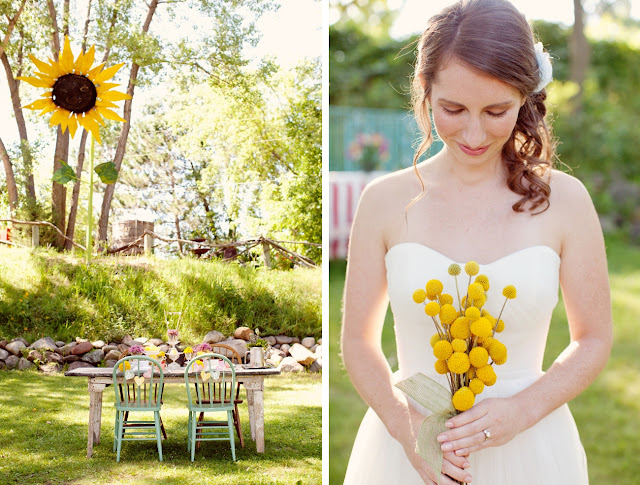 Cocoa & Fig: A Spring Wedding With Vintage Flair