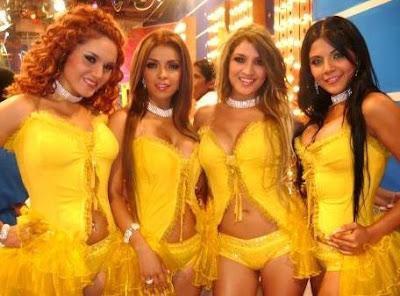 Foto de Las Hijas de su Madre en programa de TV