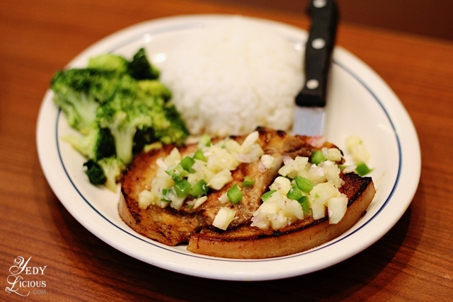 Pork Chop with Pineapple Salsa IHOP PH