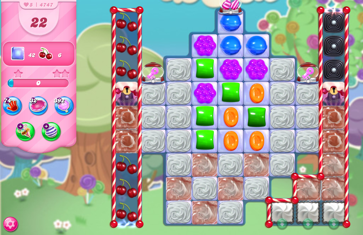 Candy Crush Saga level 4747