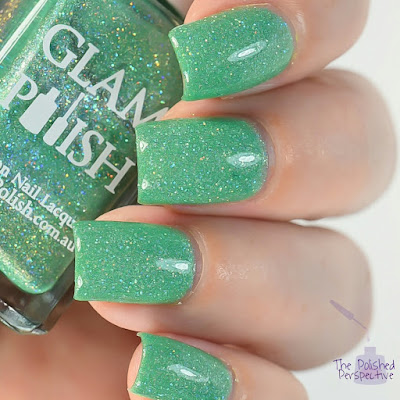 glam polish enchanted forest swatch