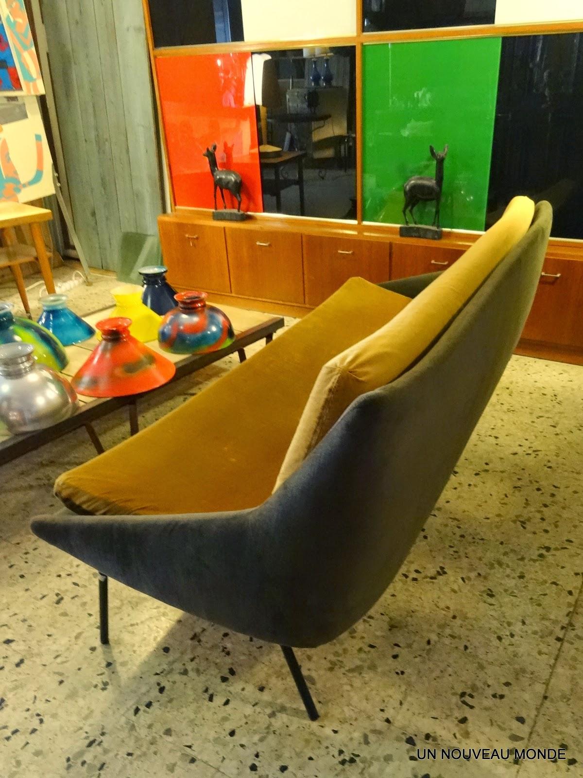 L\'Atelier de Philippe: Canapé, banquette années 50