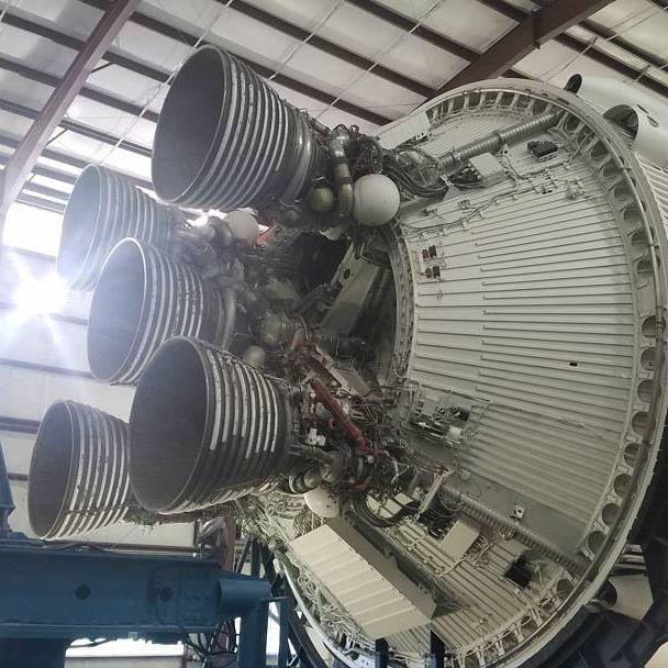 Saturn V Rocket Park