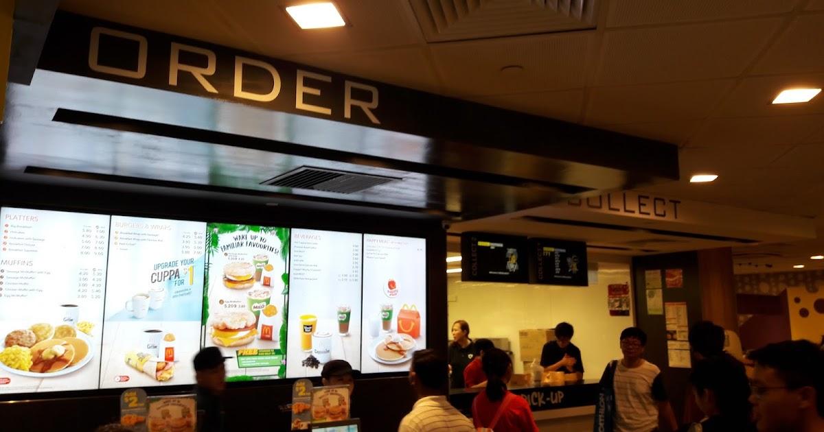 Explain A Fast Food Layout
