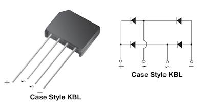 Pinii punții redresoare KBL04