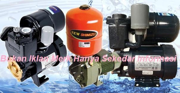 Daftar Harga Pompa Air Shimizu Berbagai Type Dan