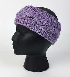 Free knitting pattern from Mary Beth Temple using Kreinik Reflective Yarn