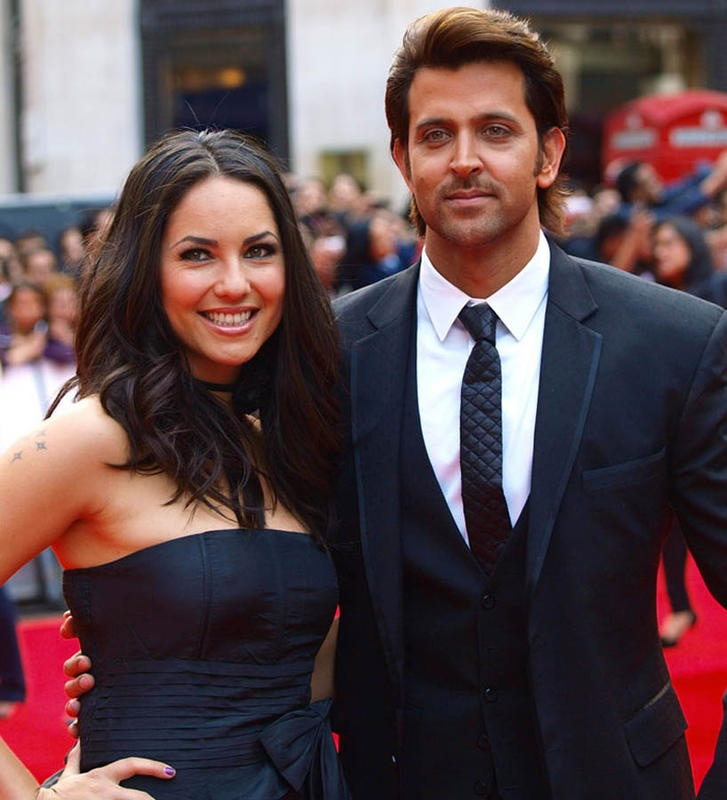 Hrithik Roshan and Barbara Moore