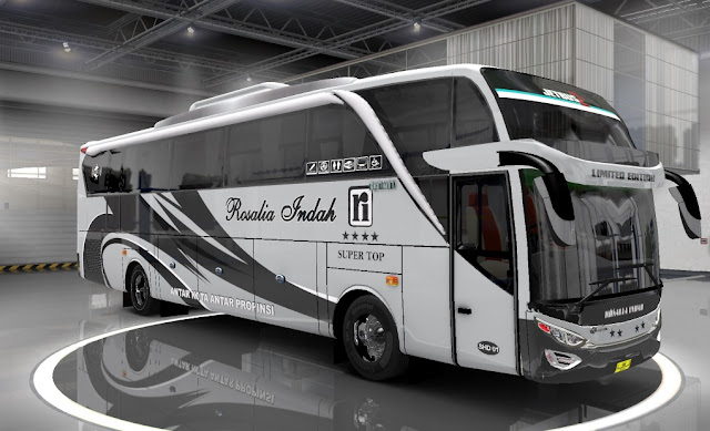 Livery Bus JB2SHD++ Ep1 v7 By MN Euro Truck Simulator 2