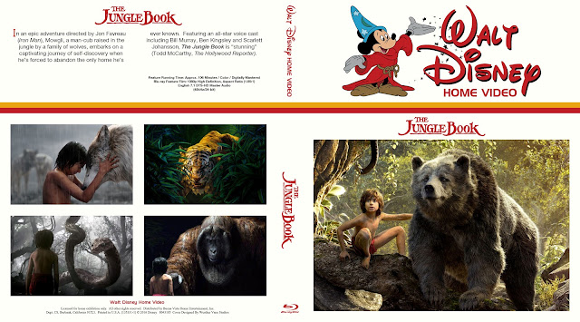 The Jungle Book Bluray Cover