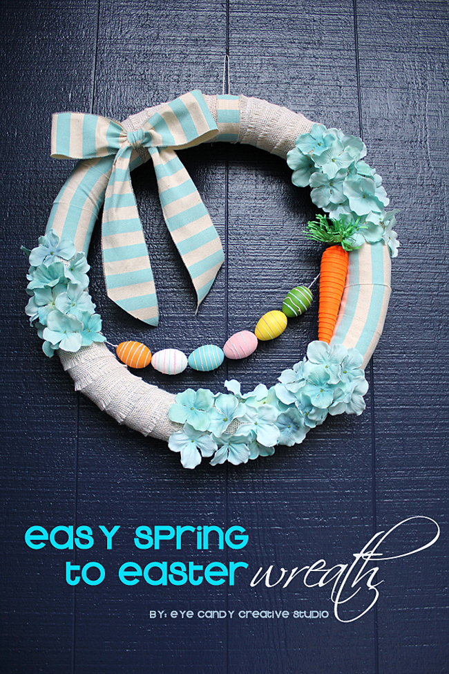 how to make a spring wreath, easy spring to easter wreath, burlap, flowers