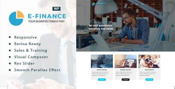 Download Efinance Consultancy WordPress Responsive Theme
