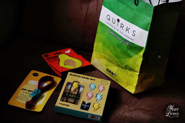 Quirks PH Novelties and Curiosities' Awesome Deals on Its 8th Year Anniversary, Quirks PH Gift Items Manila Philippines Blog Review Branches Promo Discounts Gift Ideas for Birthday Christmas Debut Etc. YedyLicious Manila Food Blog