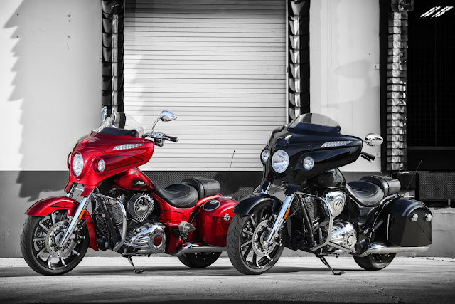 Indian Motorcycle Perkenal Chieftain Elite Dan Chieftain Limited Serba Baru