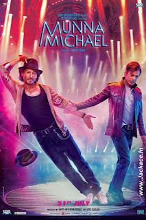 Munna Michael First Look Poster