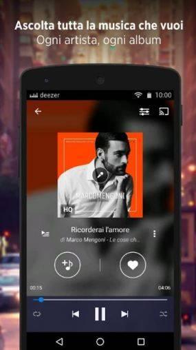 applicazione di streaming di musica gratis