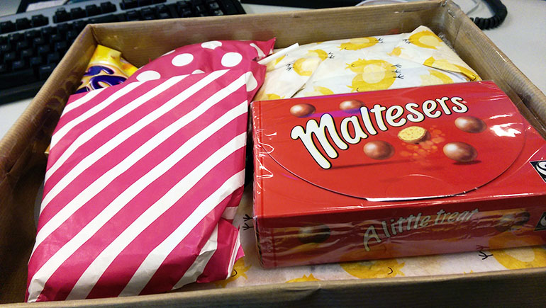 Treats, Tweets and Eats | The Spring Gift Swap Edition!