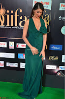 Laxmi Rai in a Deep neck Beautiful Green Gown Cute Actress Laxmi Rai ~  009.JPG