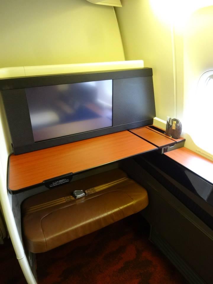 JAL First Class NRT-JFK Boeing 777 - Premium Cabin Deals