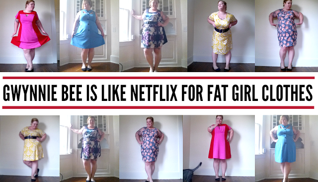 Netflix for clothes Gwynnie Bee