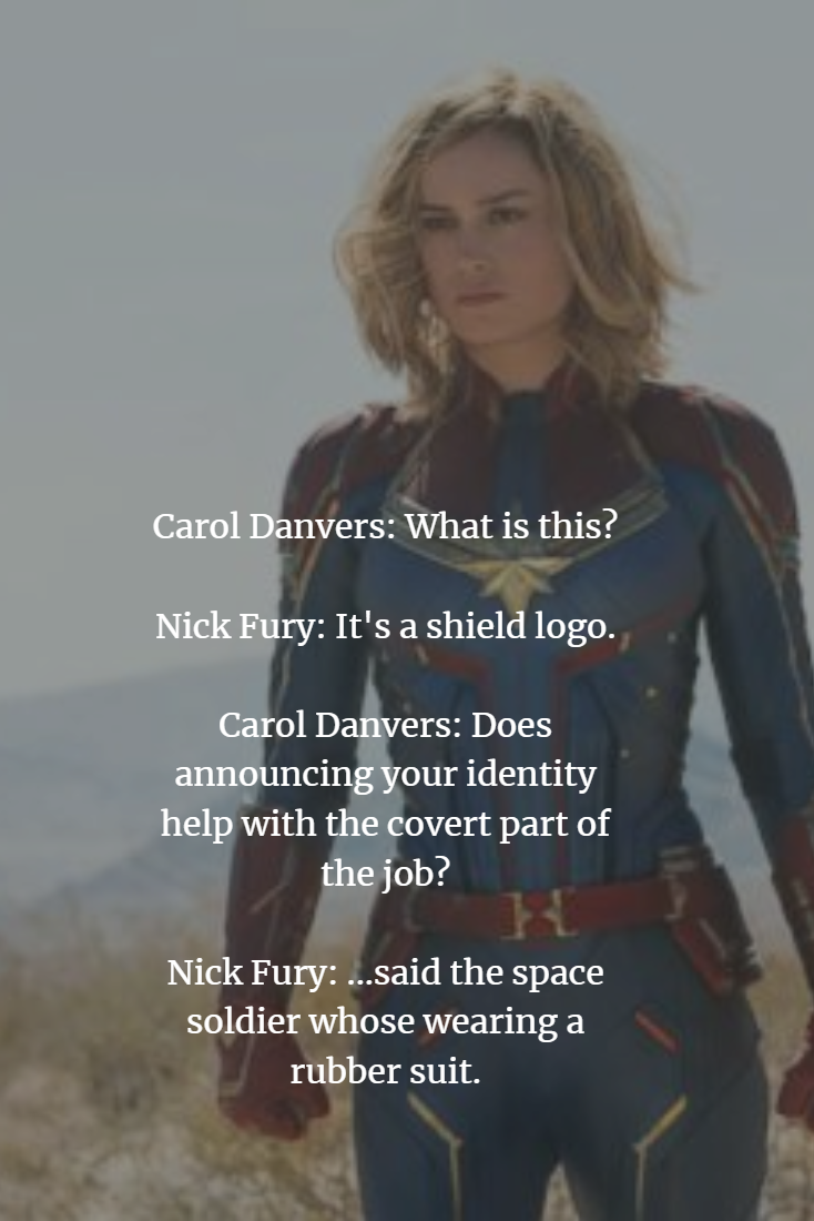 Captain Marvel (2019) Quotes