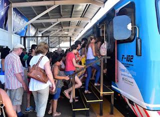 Proyectan la extensión del tren Internacional hasta Garupá