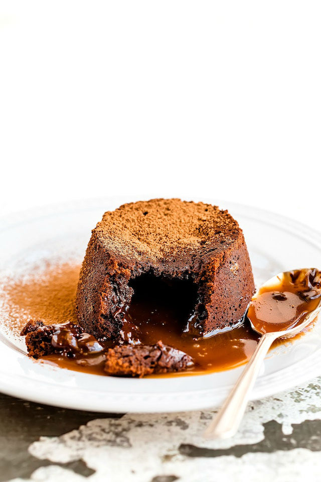 Souflé de chocolate