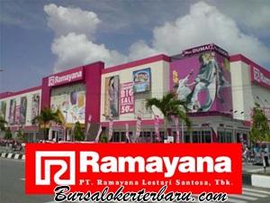 Lowongan Kerja Cirebon Terbaru : PT Ramayana Lestari Sentosa Tbk (Ramayana Dept Store)