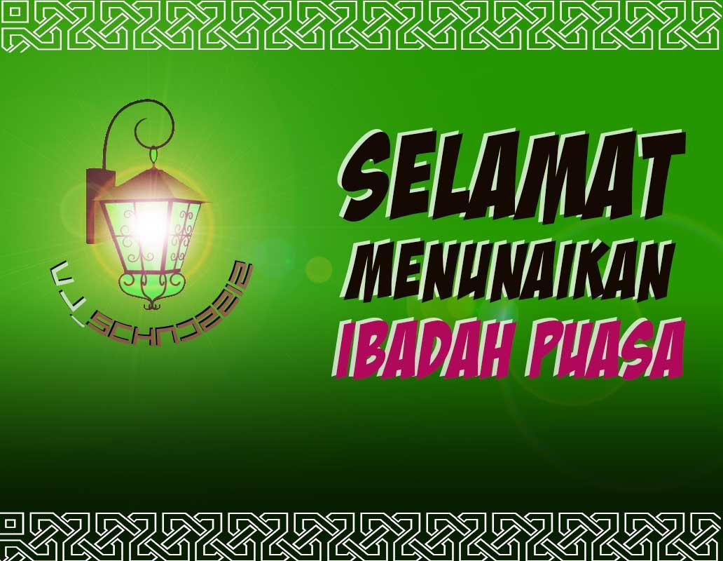 Sketsa Gambar DP Wallpaper Ucapan Selamat Berpuasa Ramadhan 2018