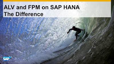 ALV and FPM on SAP HANA