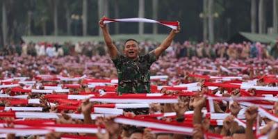 Aksi Nusantara Bersatu di Dominasi Militer Bukan Rakyat Sipil