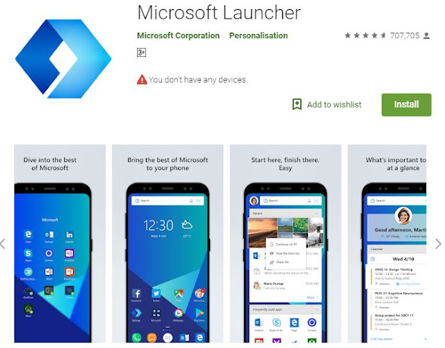 Best Android Launcher for you phone to Enhance Looks And Performance Of Your Device of 2019