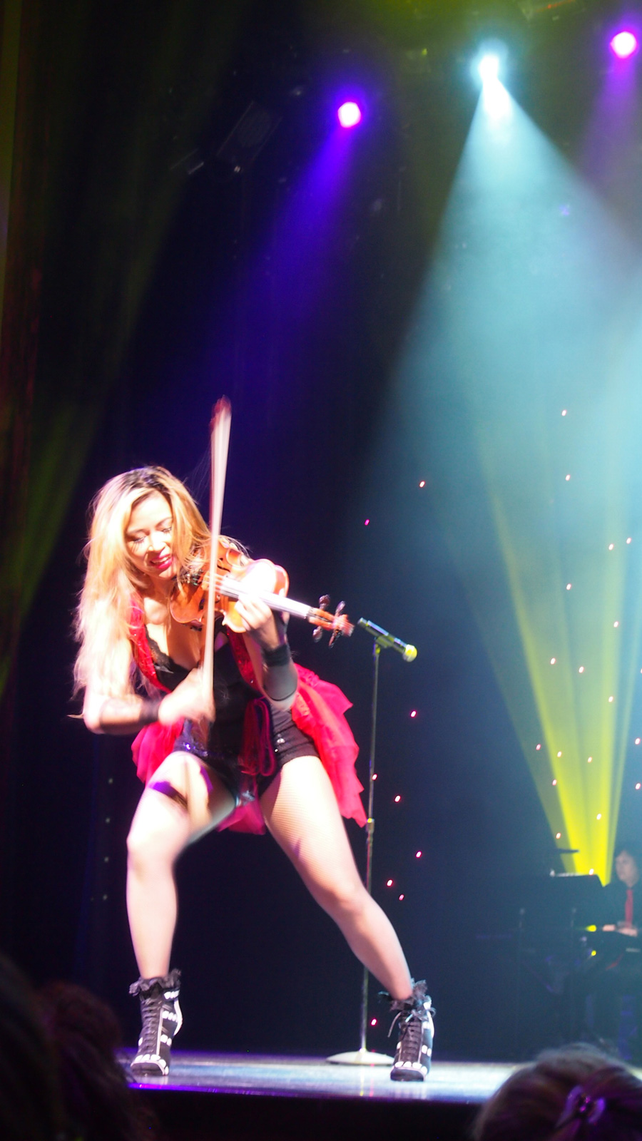 10 days Celebrity Cruise Vacation to Europe - Virtuoso violinist, Analiza Ching