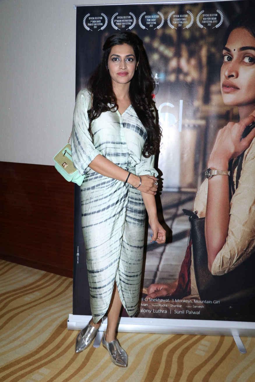 Salony Luthra at the Special Screening of Film Kajal In Mumbai
