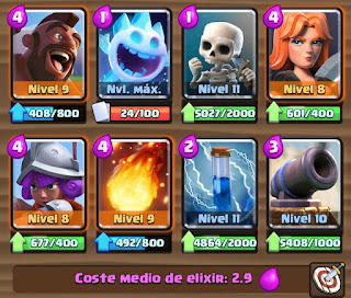 mazo de trifecta clash royale