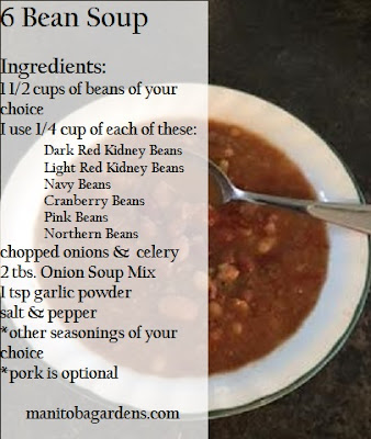 Bean soup Ingredients and directions