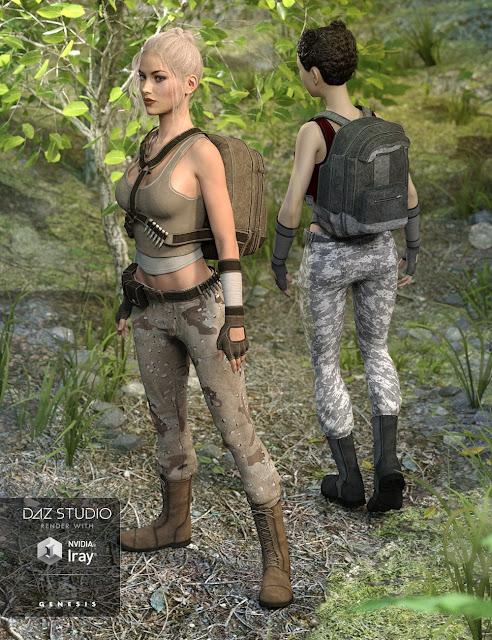 Rogue Commando Textures