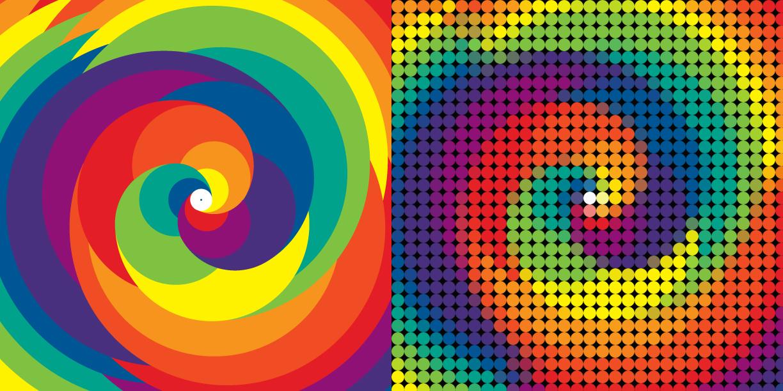 Ies margarita de fuenmayor tecnolog a e inform tica ejemplo de efecto con photoshop mosaico - Mosaico de colores ...