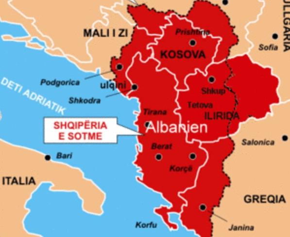 Η Ρωσία Εναντίον «Σχεδίων Μεγάλης Αλβανίας» σε Βάρος Σκοπίων και άλλων Γειτόνων Χωρών.