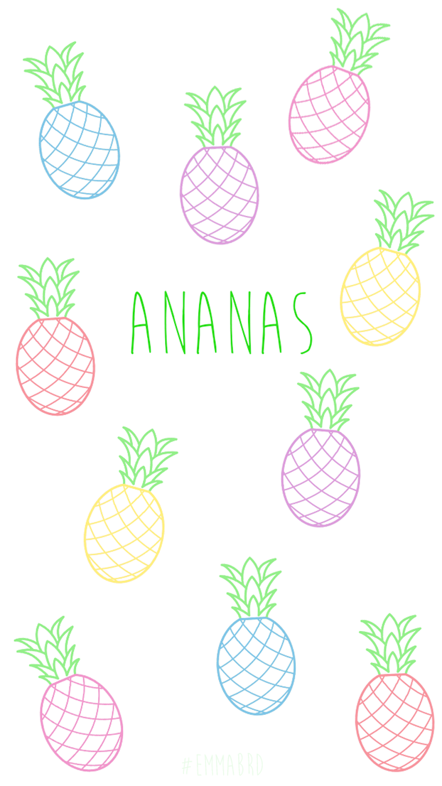 Emoji Wallpaper Cute Fond D 233 Cran Ananas Hd Fond D 233 Cran Hd