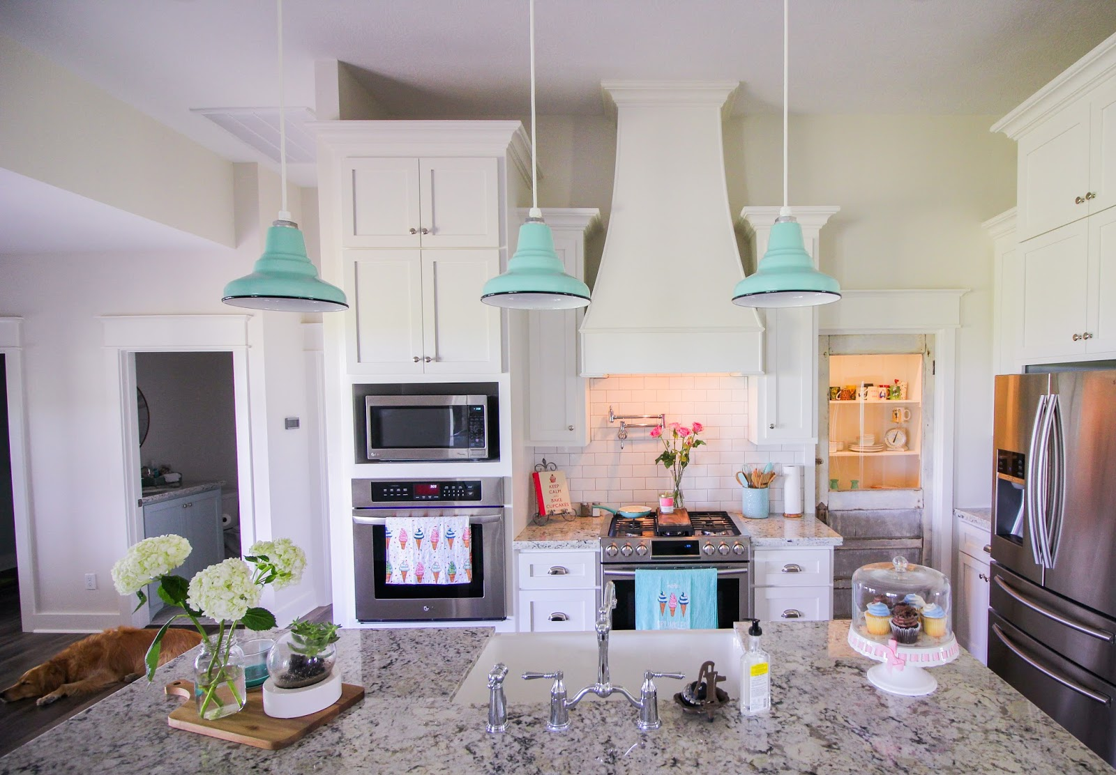 Lately Loves Kitchen Reveal Barn Light Electric Pendants