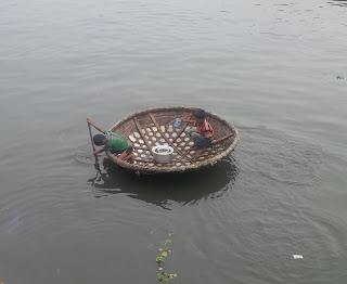 """Coracle"" from Kerala, India"