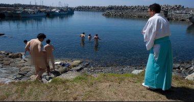 اليوم السابع جزيرة يابانية مقدسة محرمة على النساء ويدخلها الرجال بلا ملابس