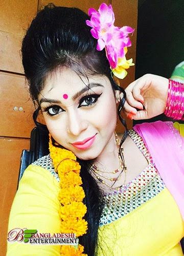 Bangladeshi film actress Misty Jannat
