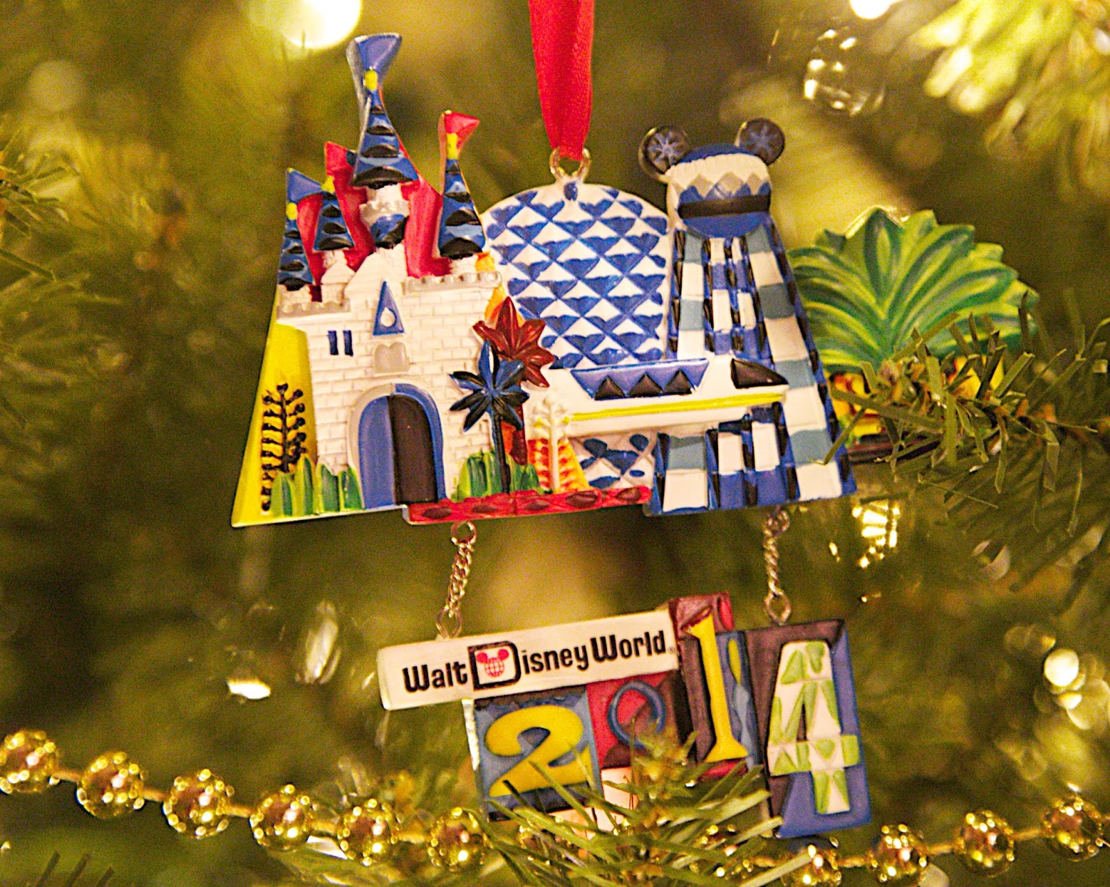 Walt Disney World Ornament