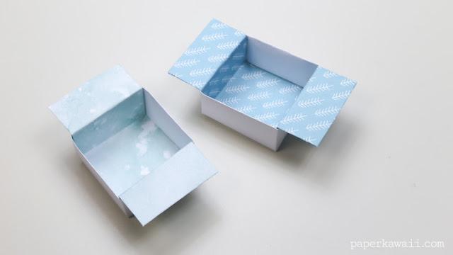 วิธีพับกล่องกระดาษ