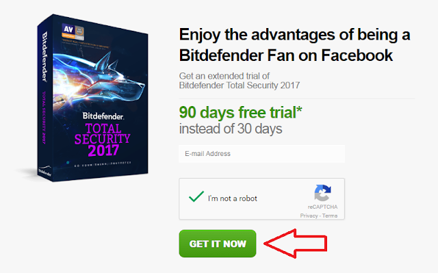 عرص لتفعيل قانوني لبرنامج Bitdefender  مجانا