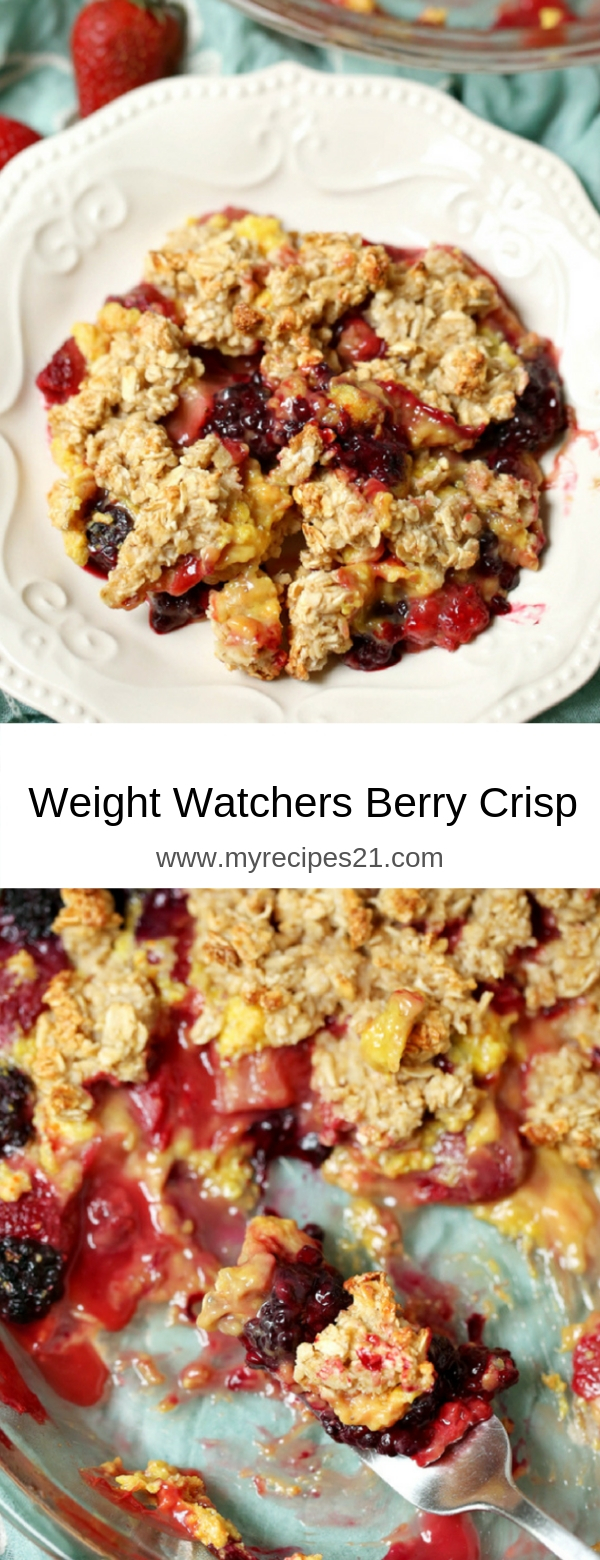 Weight Watchers Berry Crisp