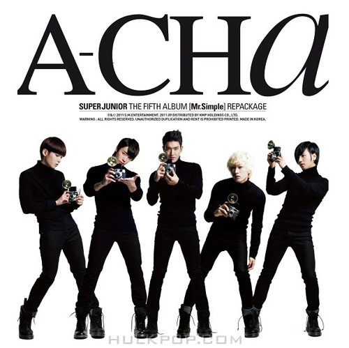 Super Junior – A-CHA (Mr. Simple (Repackage)) (FLAC + ITUNES PLUS AAC M4A)