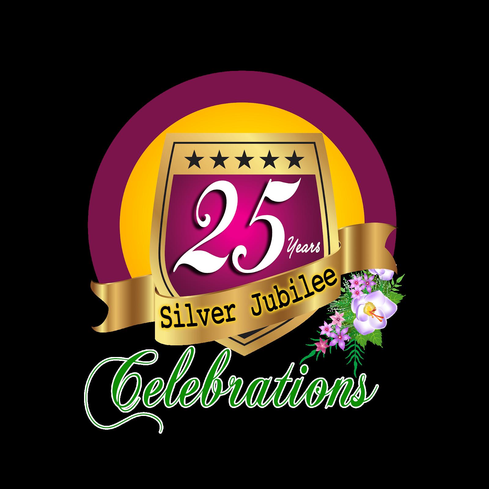 25 Years Silver Jubilee Celebrations Hd Png Logo Free Downloads
